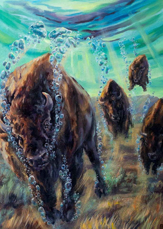 High Tide: Floating The Plains Art   Ans Taylor Art