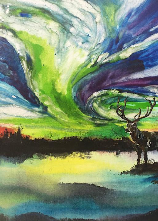 Aurora Stag Art | Christy! Studios