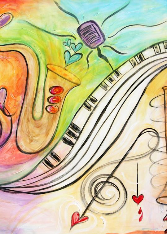 All Jazzed Up 1 Art | Heartworks Studio Inc
