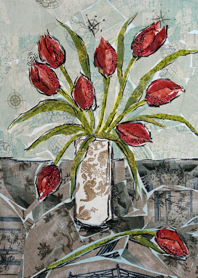 Tulips Print Art | Sharon Tesser LLC