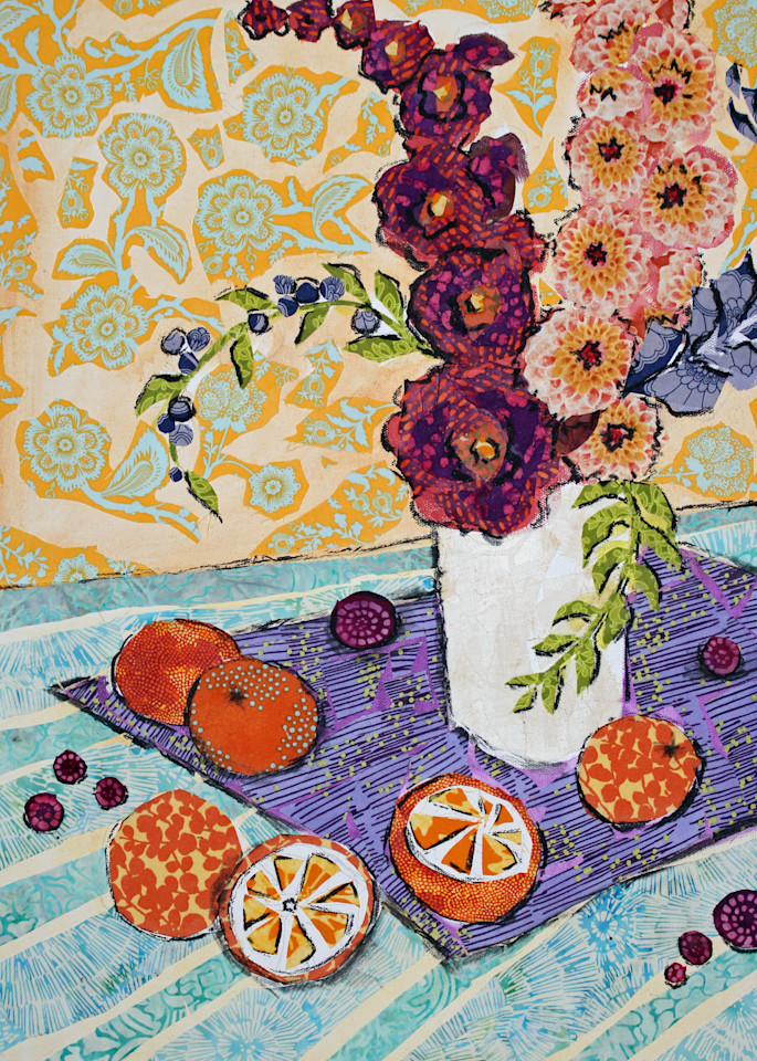 Blood Oranges and Berries by Sharon Tesser