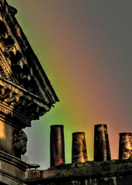 Rainbow & Mist Over Bath, England Number One Photography Art   Photoissimo - Fine Art Photography