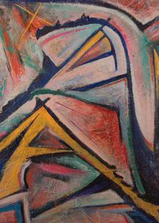 """Va Xinated Triptych"" Art   Daniel Kanow Fine Art"