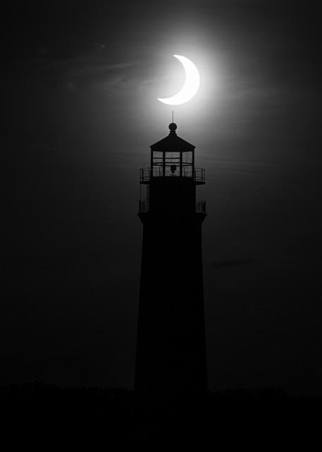 Eclipse Over Sankaty Light 2 Photography Art | Kit Noble Photography