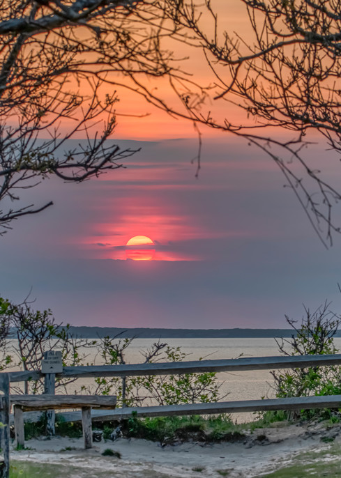 Great Rock Bight Sunset Overlook Art   Michael Blanchard Inspirational Photography - Crossroads Gallery