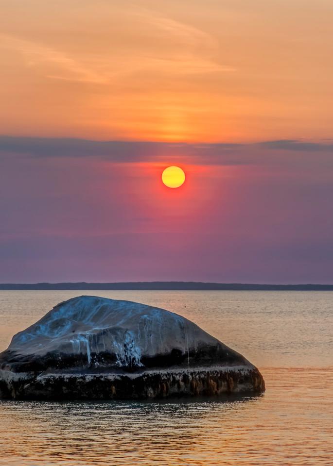 Great Rock Bight Sunset Closeup Art | Michael Blanchard Inspirational Photography - Crossroads Gallery