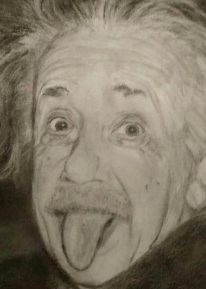 Albert Einstein Art   Salvatore Ingoglia / Jbellarts
