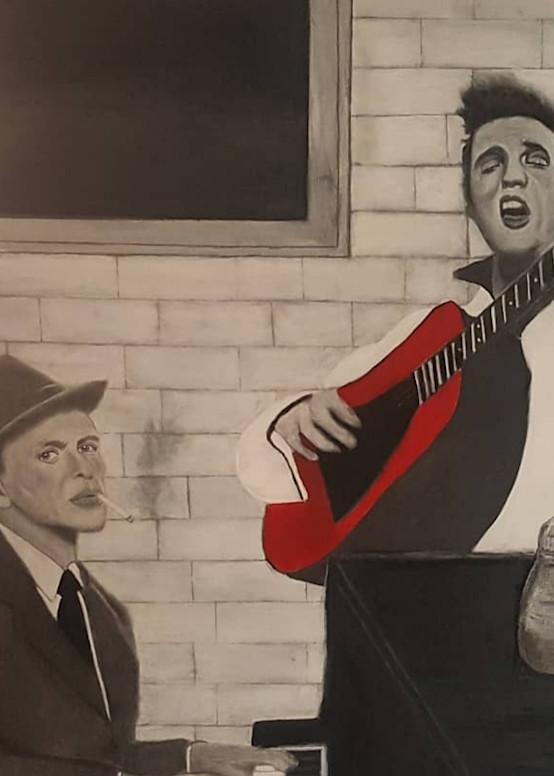 Elvis Frank Sinatra Art | Salvatore Ingoglia / Jbellarts