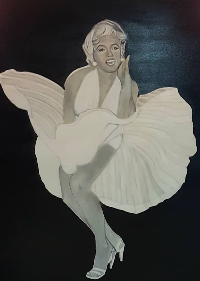 Marilyn Monroe Art | Salvatore Ingoglia / Jbellarts