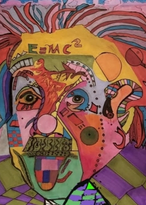Einstein Abstract Art | Salvatore Ingoglia / Jbellarts