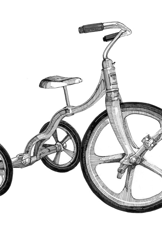 Trike Art | Andre Junget Illustration LLC