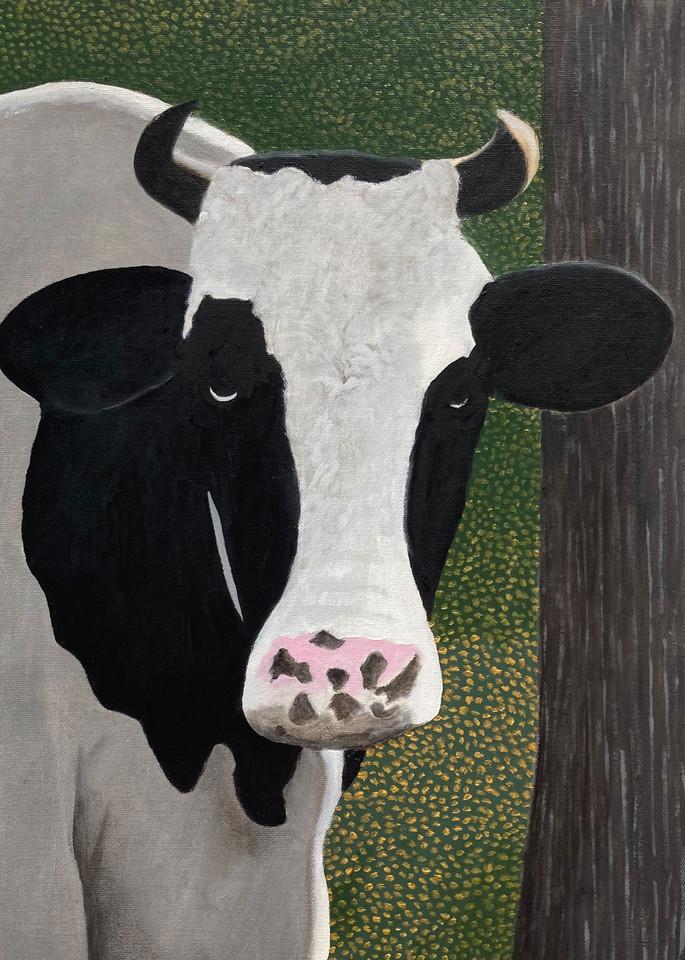 La Jolie Vache Viii Art   David R. Prentice