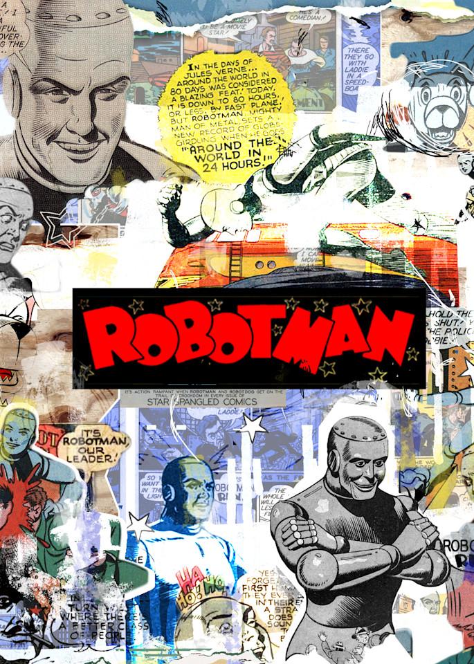 Robot Man Art   John Knell: Art. Photo. Design