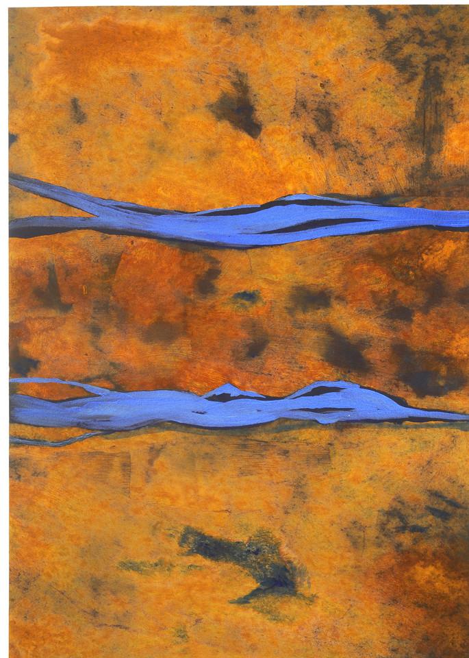 Bronze Blue Art | Joan Bixler Art
