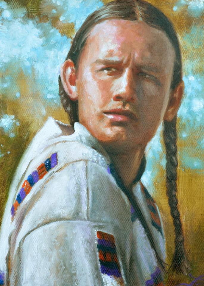 Cheyenne Warrior Art | James Loveless Art
