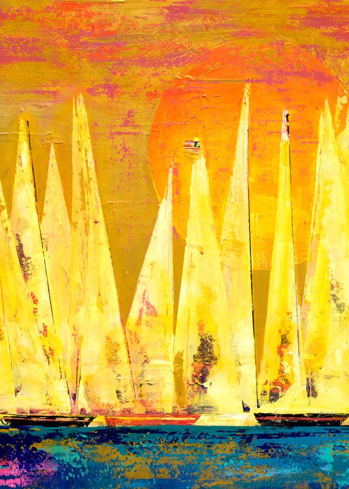Sail At Ease  Art | benbonart