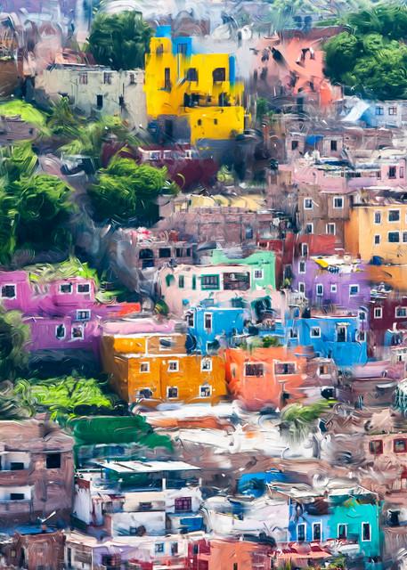 Windows Of Guanajuato Art | Rick Peterson Studio