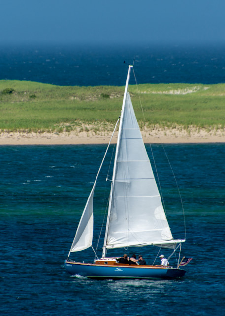 Sailing In Chatham Harbor Photography Art | The Colors of Chatham