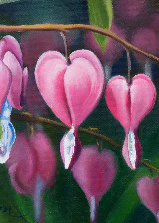 Bleeding Hearts Art   Leanne Hanson Art