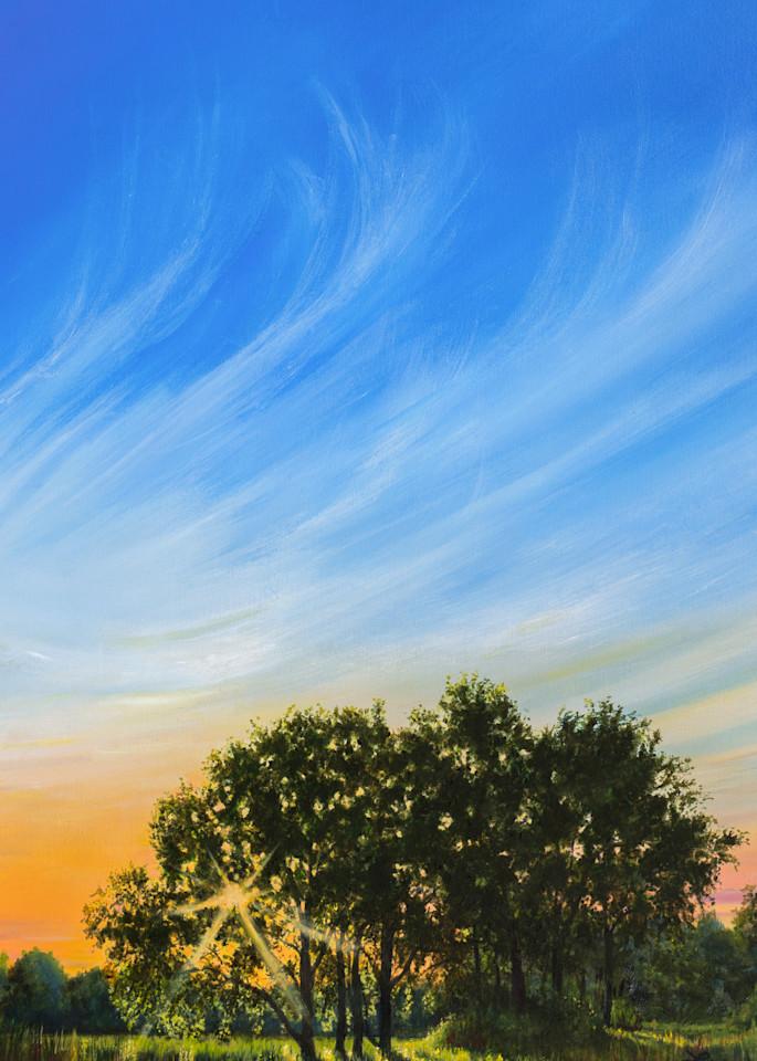 Roadside Sunset 1 Art   Leanne Hanson Art