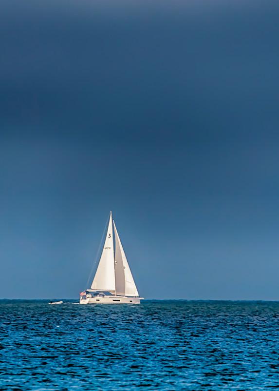 Dark Clouds Sailing Art | Michael Blanchard Inspirational Photography - Crossroads Gallery