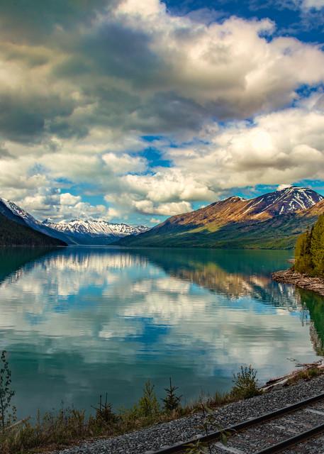 Around The Bend   Kenai Lake Reflection 8469 Photography Art   Koral Martin Fine Art Photography