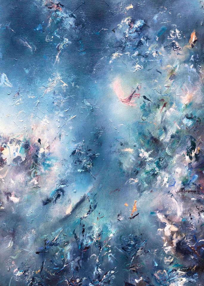 Morning Dream - Original Abstract Landscape Painting | Samantha Kaplan