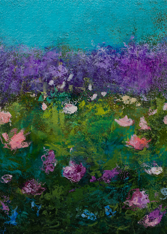 Cheerful Floral Canvas Wall Art Prints