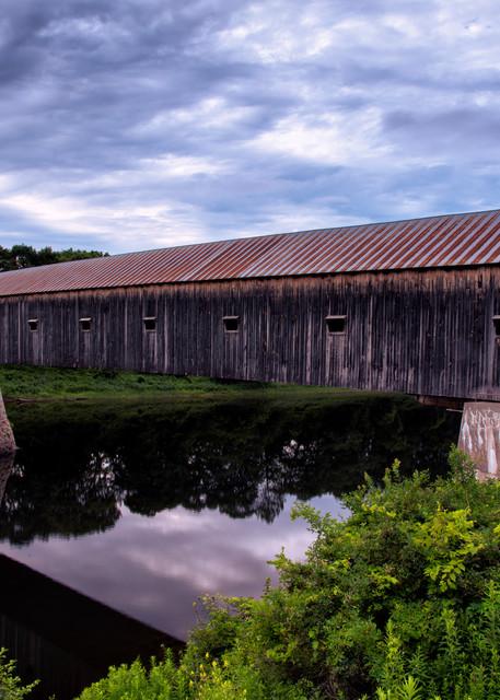 Cornish-Windsor Covered Bridge - New England fine-art photography prints
