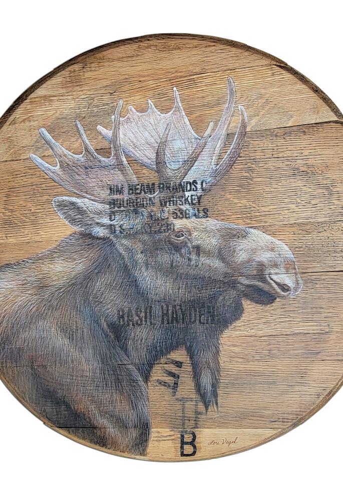 Bourbon Moose Art   Lori Vogel Studio