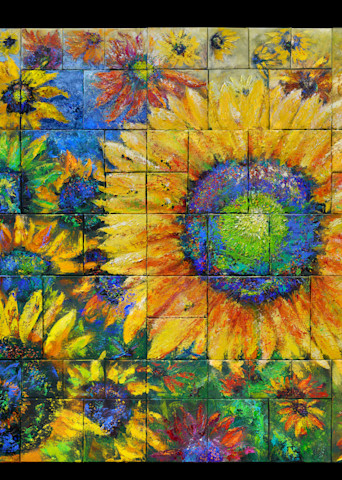 Layers – Sunflower Field 2021 Art | S Pominville