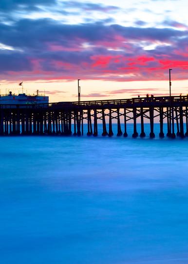 Balboa Pier Sunset 2010  Art   Shaun McGrath Photography