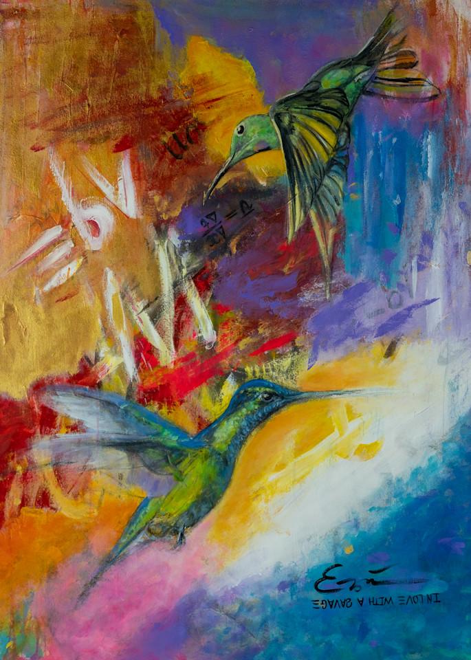 In Love With A Savage  Art | Blac Rhino Art Group