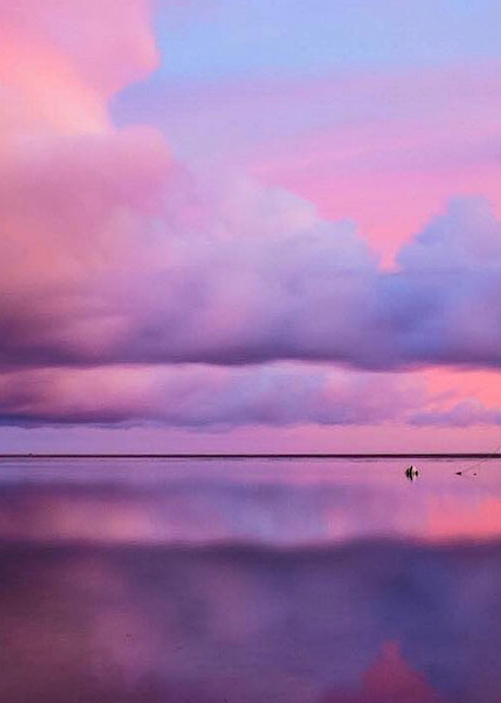 Cotton Candy Sky Photography Art   The Colors of Chatham