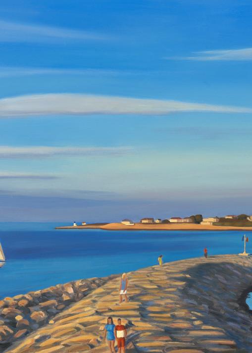 Summer In Rockport Art | The Art of David Arsenault