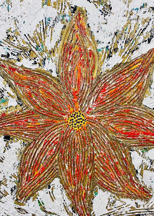 Fire Flower Art   Anthony Joseph Art Gallery
