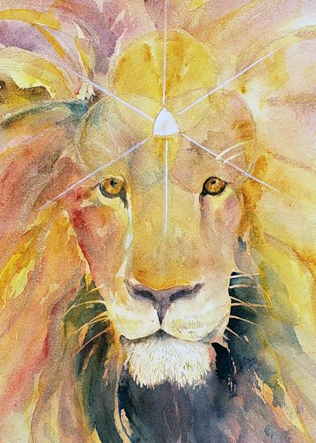 Call of the Lion Fine Art Print - Lions Gate Portal Print