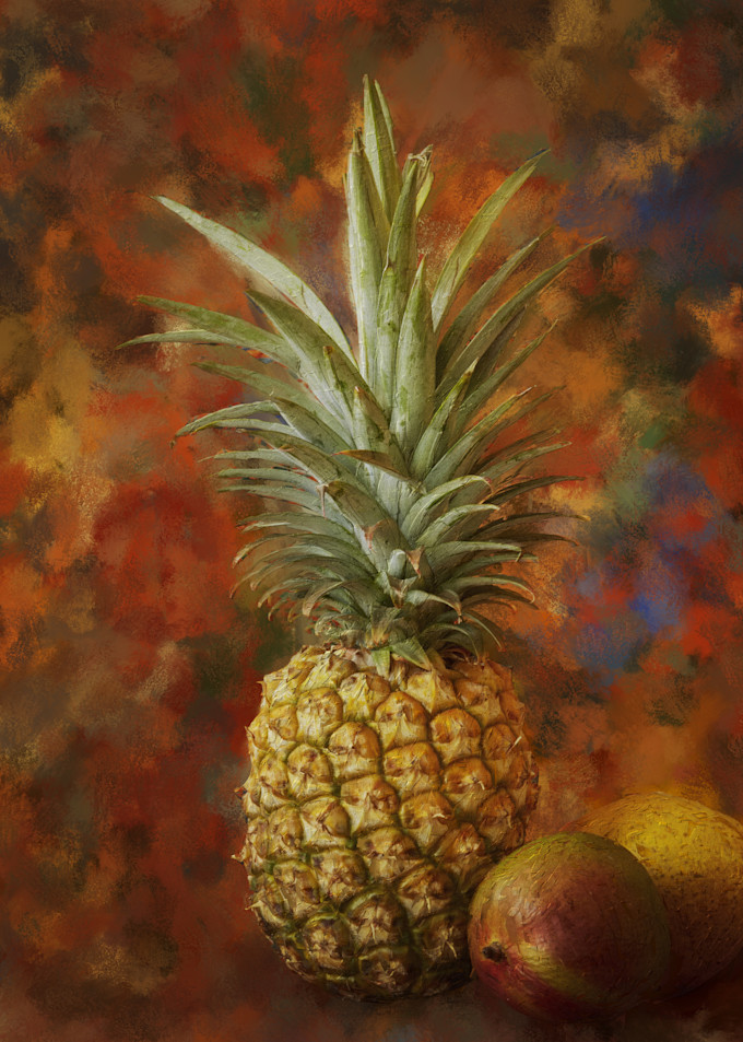 Pineapple Art | Rick Peterson Studio