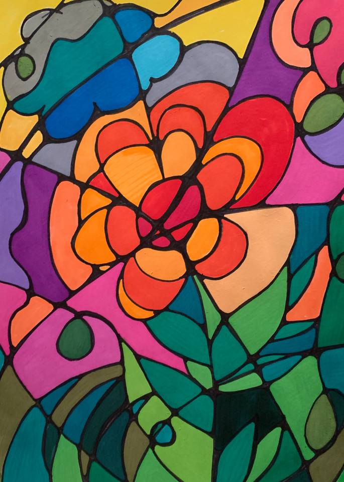 Neurogenic Art 15 Art   Marci Brockmann Author, Artist, Podcaster & Educator