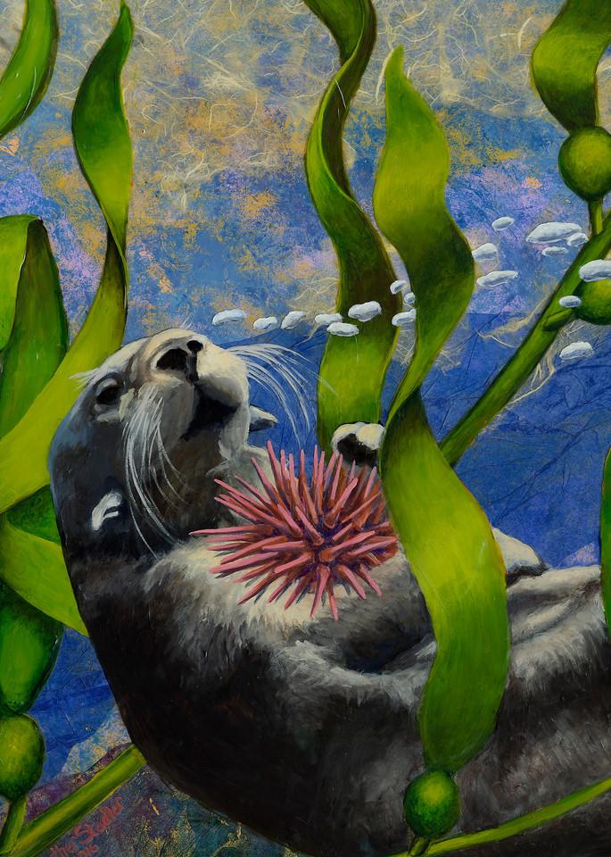 Saving The Kelp Forest Art | Art by Heather Stadler