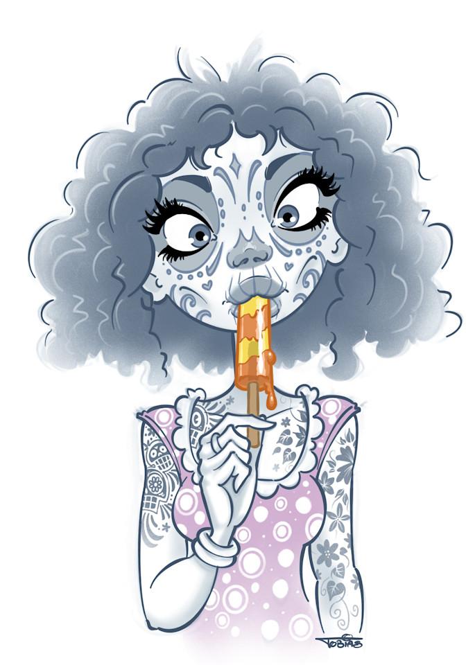 Popsicle Art   Art By Tobias