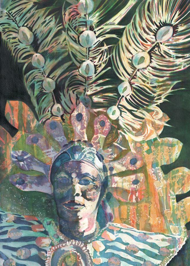 6. Troupe Hostess Kali   Crucian Carnival Series Vi Art | Michele Tabor Kimbrough