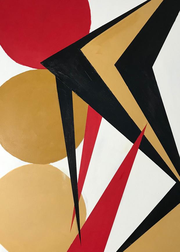 Red Is Star Art | Jerry Hardesty Studio