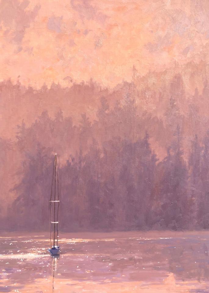 Misty Mountains Art   Diehl Fine Art
