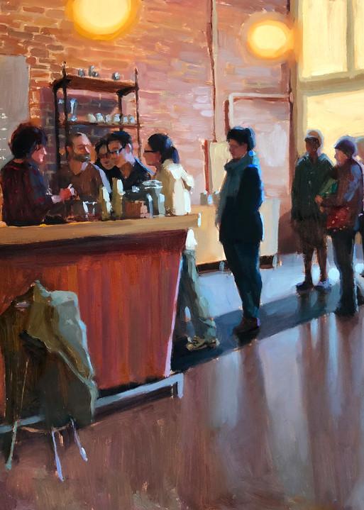 Coffee Shop Art   Diehl Fine Art