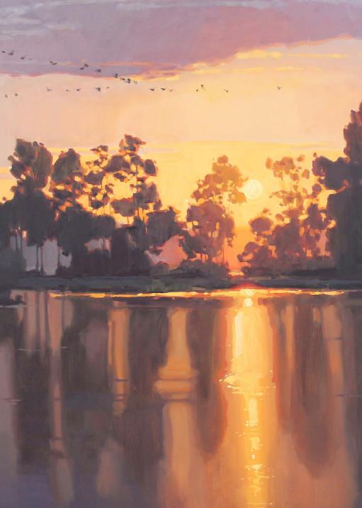 Glow Of An Evening Art | Diehl Fine Art