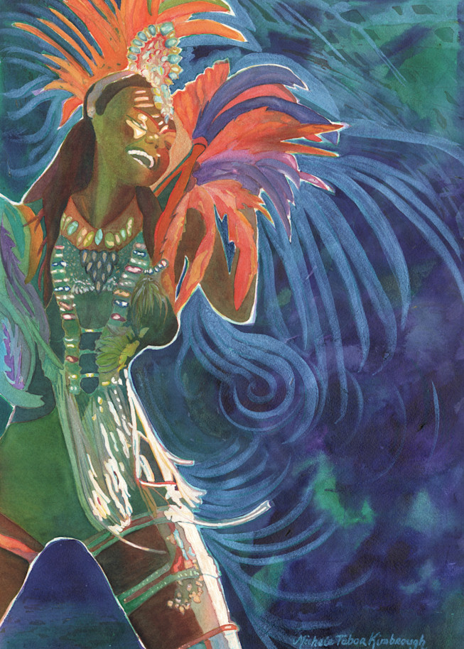 5. Life S A Carnival   Crucian Carnival Series V Art   Michele Tabor Kimbrough