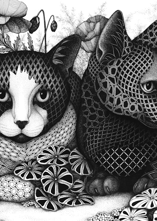 "In The Garden Art | Kristin Moger ""Seriously Fun Art"""