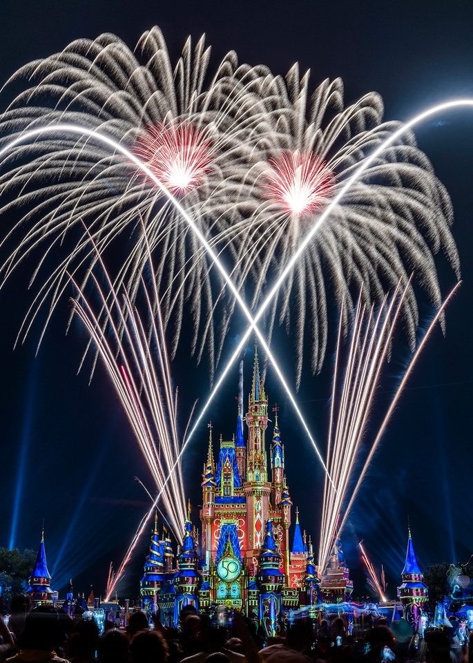 2021 Happily Ever After 1 - Disney World Wall Art   William Drew Photography