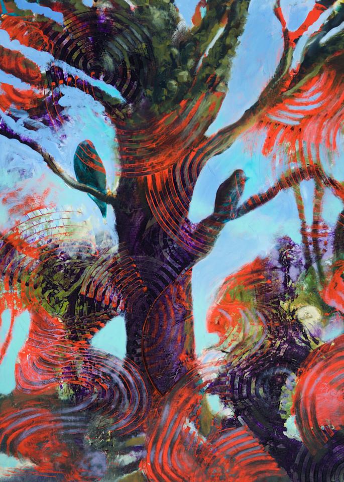 Birds In Tree Xi.Lg Art   V Creative Studio